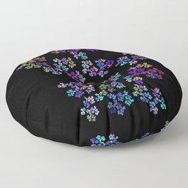 little flowers Floor Pillow