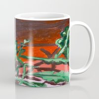 fern Mugs featuring Fern by Brittany Ketcham