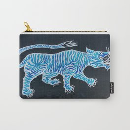 Tiger Blue Carry-All Pouch