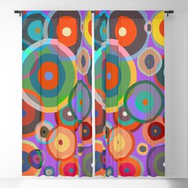 Kandinsky #4 Blackout Curtain