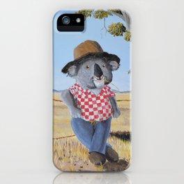 Aussie Koala iPhone Case