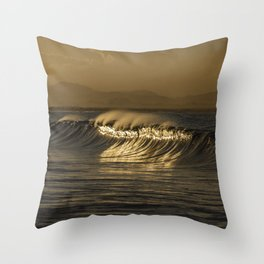 Sunset in Byron Bay Throw Pillow