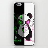 pandas iPhone & iPod Skins featuring Pandas by Chocoeva