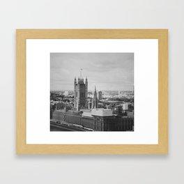 Palace of Westminster Framed Art Print