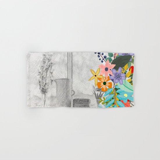 Flowers bouquet #12 Hand & Bath Towel