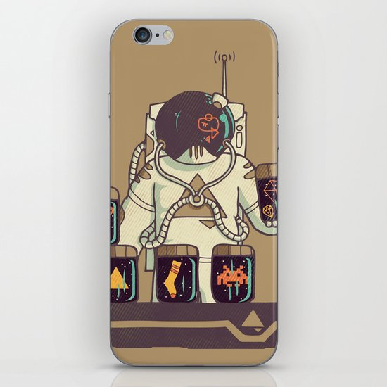 Kleptonaut iPhone Skin