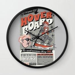 hoverboard Wall Clock