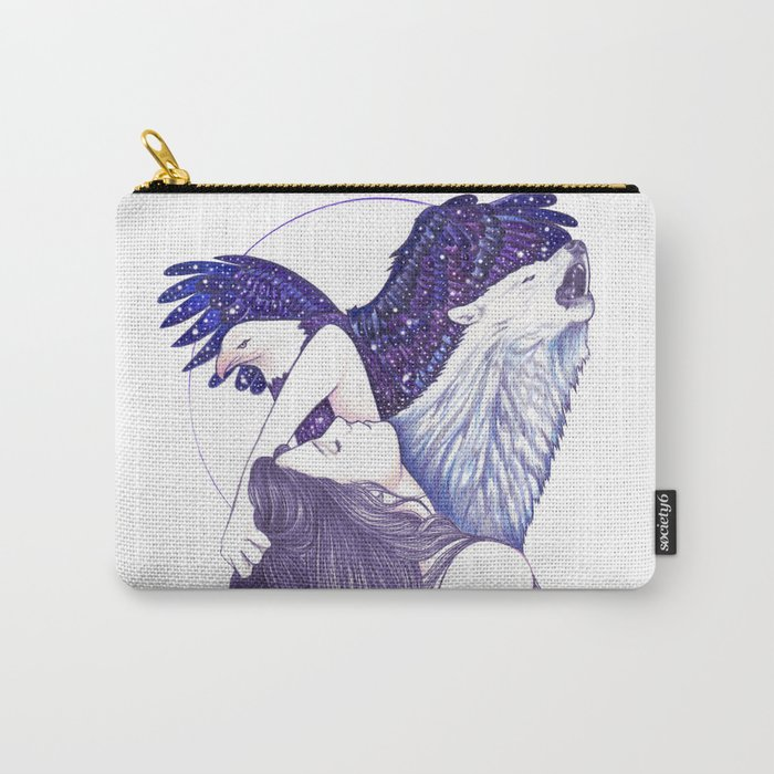 Wings Of An Eagle Carry-All Pouch