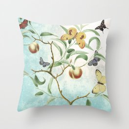 Soon shall our wings be stilled Throw Pillow