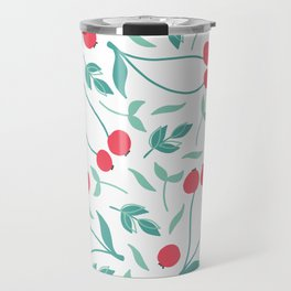 Sweet Red Cherries Travel Mug