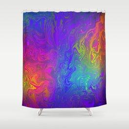 Rainbow Fuel Shower Curtain