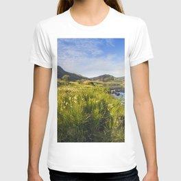 Llyn Ogwen and Tryfan T-shirt