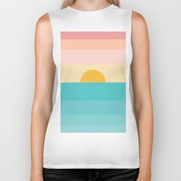 sunrise /sunset Biker Tank
