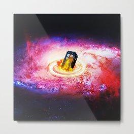 Tardis Black Hole Metal Print