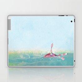 Clumsy Flamingo Laptop & iPad Skin
