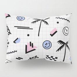Smiley faces all day Pillow Sham