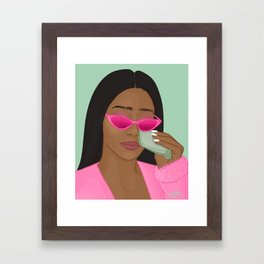 Wipe Those Tears Framed Art Print