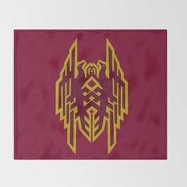 Hawke Amell Crest V2 Throw Blanket