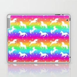 Rainbow Unicorn Happy-Fun-Time Laptop & iPad Skin