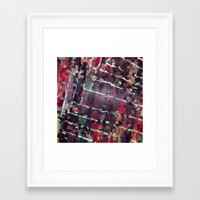 code Framed Art Prints featuring Code by MonsterBrown