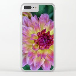 Beauty In The Garden Clear iPhone Case