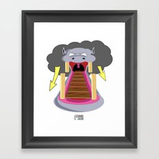 The Hippo's Not So Tempting Offer Framed Art Print