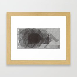 Stockpile for Nighttime: A Race Framed Art Print