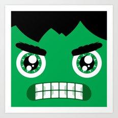 Adorable Hulk Art Print