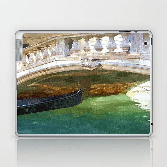 Take me back to Venice Laptop & iPad Skin