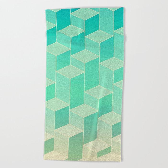 UpsideDown IV Beach Towel