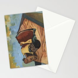 Rocking House Finch Stationery Cards