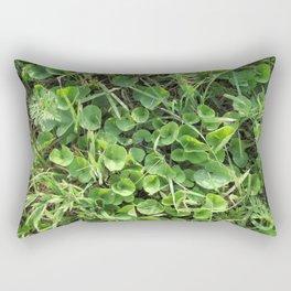 Summer Time Green Rectangular Pillow