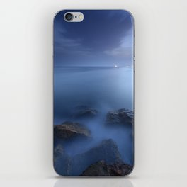 """Blue sea"". Blue hour. iPhone Skin"