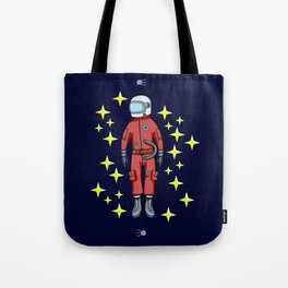 USSR cosmonaut Tote Bag