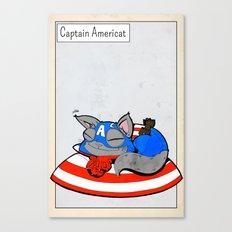 CAPTAIN AMERICAT - FAN ART AVENGER CAPTAIN AMERICA Canvas Print