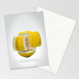 Flying Casaba Melon Stationery Cards