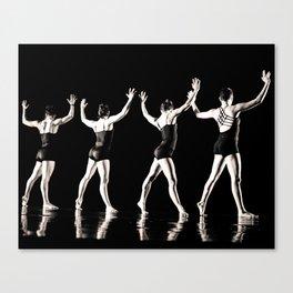 Rehearsal - Dancer Series 2 Canvas Print