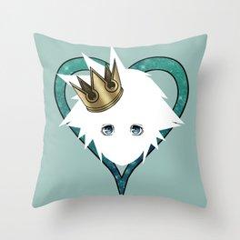 Royal Sora Throw Pillow