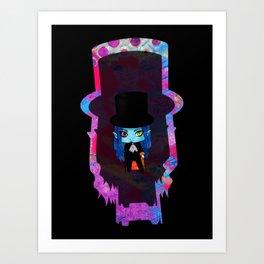 Chibi Dantes Art Print