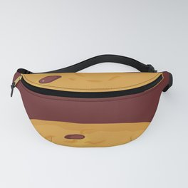 Kawaii Chocolate chip cookie Fanny Pack