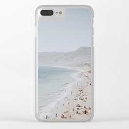 coast v / malibu, california Clear iPhone Case