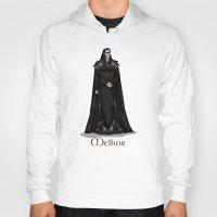 valar morghulis Hoodies featuring Melkor by wolfanita