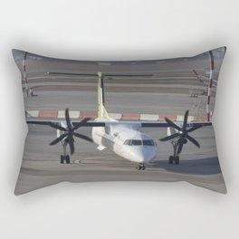 Air Baltic Bombardier Dash 8 Q400 Rectangular Pillow