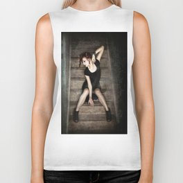 Small Cages Biker Tank