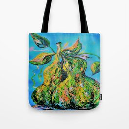 Abstract Pears Tote Bag