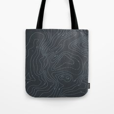 Contour Mapping v.3 Tote Bag