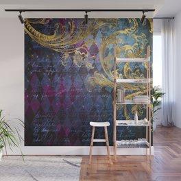 Midnight Harlequin Wall Mural