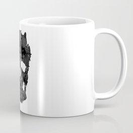 Sketchy Cat skull Coffee Mug