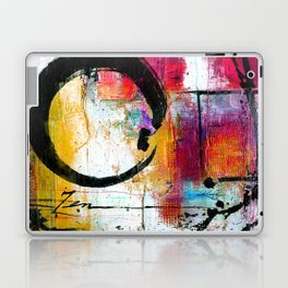 Enso Abstraction No. mm15 Laptop & iPad Skin