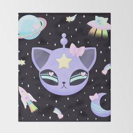 Space Cutie Throw Blanket